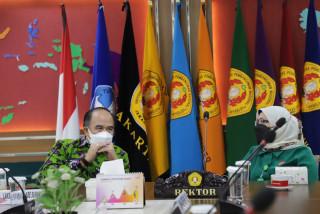 UPNVJ Jajakan Kerjasama dengan Laksamana TNI (Purn) Dr. Ade Supandi : Kampus Bela Negara harus memiliki budaya yang kuat