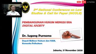 FH UPNVJ Kembali Gelar National Conference on Law Studies (NCOLS) 2020