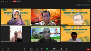Masalah Kesehatan di Masa Pandemi Covid-19 Jadi Tema Besar Webinar Nasional  FK UPNVJ