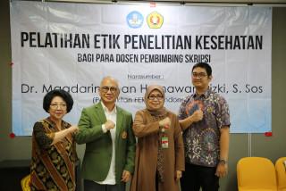 Pelatihan Etik Penelitian Kesehatan Hadirkan Dr. Magdarina dan Himawan Rizki sebagai Narasumber
