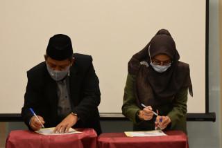 FEB Tandatangani Kerjasama Dan Penyusunan Pedoman Pelaksanaan Kurikulum Merdeka Belajar Kampus Medeka (MBKM)  Program Studi Ekonomi Syariah