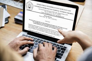Pendaftaran Penurunan Kelompok/Kategori UKT, Penurunan UKT 50%, Pembebasan UKT dan Penundaan/Pencicilan UKT Semester Genap TA. 2020/2021 UPNVJ