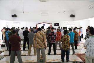 UTBK 2020, Masjid Manbaul Ulum UPNVJ Siap Gelar Salat Jumat