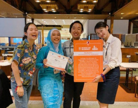 Chyntia Ayu  Mahasiswa FIKES Tuai Prestasi di Asia Pacific Youth Exchange Philippines 2020