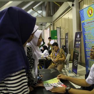 """UPN """"Veteran"""" Jakarta dalam Sosialisasi SNMPTN dan SBMPTN di Universitas Indonesia"""