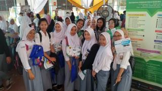 Tim Humas UPNVJ Hadiri Sosialisasi Pendidikan di SMA Yaspen Tugu Ibu