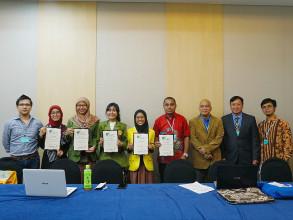 Mahasiswi UPNVJ Raih Prestasi di Korea Selatan  dalam Ajang AFC 2018