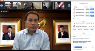 Bersama Wakil Ketua DPR RI, UPNVJ Gelar Bimtek Online Proses dan Bimbingan Penyusunan Undang-Undang (Legislative Drafting) bagi Profesional Dosen