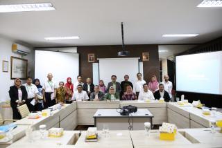 Tingkatkan Sinergitas Fakultas, Rektor Lakukan Kunjungan ke FEB dan FH