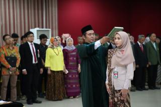 Dr. Dianwicaksih Arieftiara Resmi jadi Dekan Fakultas Ekonomi dan Bisnis UPNVJ