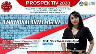 Bahas Pentingnya Kecerdasan Emosional, Bersama Dr. dr. Nova Riyanti Yusuf, SpKJ
