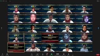FK UPNVJ Gelar Janji Kepaniteraan Sarjana Kedokteran Periode ke 61 Secara Daring