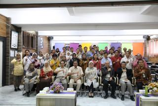 Rektor Melanjutkan Rangkaian Kunjungan Kinerja ke Fisip UPNVJ