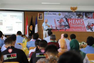 Pertama di Indonesia, UPNVJ Gelar Pelatihan  Helicopter Emergency Medical Services