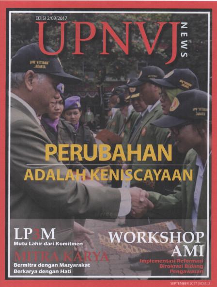 Majalah UPNVJ News 22 Sept 2017