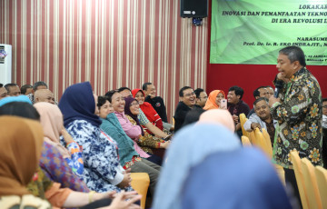 LP3M Gelar Lokakarya Inovasi dan Pemanfaatan Teknologi untuk Pembelajaran  di Era Revolusi Industri 4.