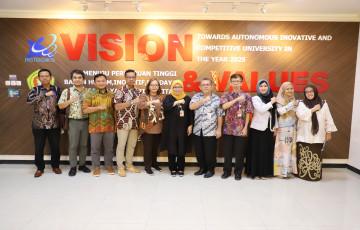 Rektor Bentuk Tim Kerja Pengembangan Universitas