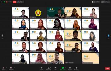 51 Dokter Baru UPN Veteran Jakarta, Laksanakan Angkat Sumpah angkatan ke - 62 Secara Virtual