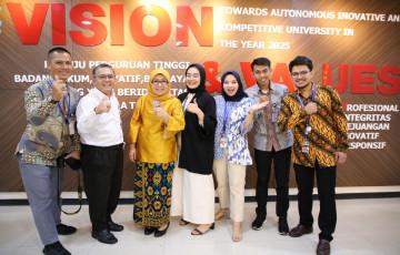 Humas UPNVJ Raih Dua Kategori Juara Nasional pada Anugerah Humas Ristekdikti 2019